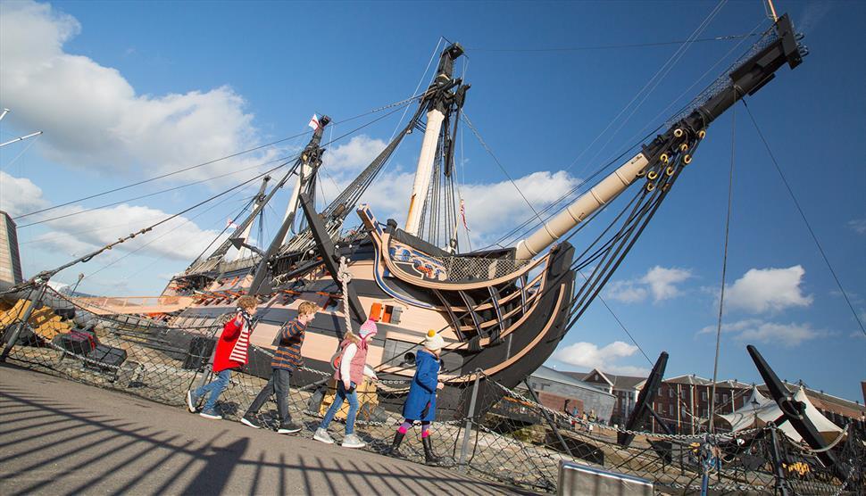 Berkunjung ke Museum Royal Navy Di Hartlepool Inggris