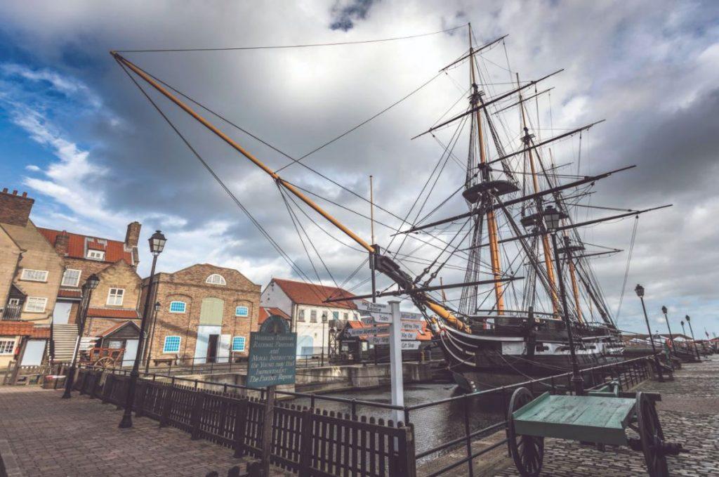 Museum Nasional Royal Navy di Hartlepool Inggris